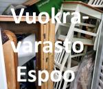 Pienvarasto, vuokravarasto, minivarasto, n. 3 m² : 335olab