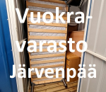 Pienvarasto, vuokravarasto, minivarasto, n. 3 m² : 579järc