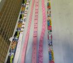 Lasten vyö, erä n. 60 kpl, eri kokoja ja värejä