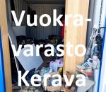 Pienvarasto, vuokravarasto, minivarasto, n. 14 m² : 044kerc