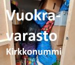 Pienvarasto, vuokravarasto, minivarasto, n. 6 m² : 008kirvk