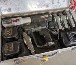 15. Putken puristin Roller Multi-Press D-71332, akkutoiminen, 2 akkua.