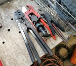 126. Sekalaisia työkaluja, erä.