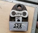 228. Uponor U25 puristimen pää.