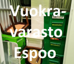 Pienvarasto, vuokravarasto, minivarasto, n. 3 m² : 331klob