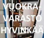 Pienvarasto, vuokravarasto, minivarasto, n. 2 m² : 078hyvc