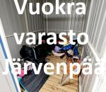 Pienvarasto, vuokravarasto, minivarasto, n. 3 m² : 526järc