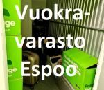 Pienvarasto, vuokravarasto, minivarasto, n. 4 m² : 338klob