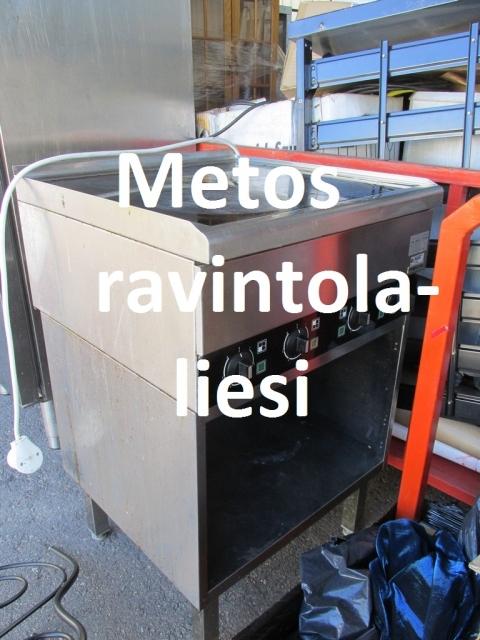 Liesi Metos PPC 60, suurkeittiö / ravintola, rosteri, Lohja