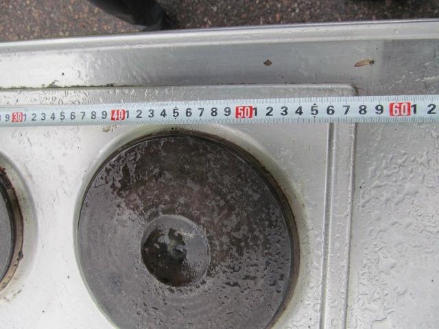 Rosterinen minikeittiö  pihakeittiö, allas, liesi, kaappi, käytetty